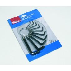 HILKA 10 PC HEX KEY SET MM