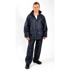 NYLON RAINSUIT NAVY BLUE 2XL