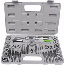 HILKA 40PC ALLOY STEEL TAP&DIE