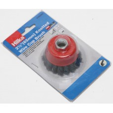 HILKA 65MM KNOTTED CUP BRUSH