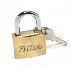 HILKA 40MM FULL BRASS PADLOCK CARDED