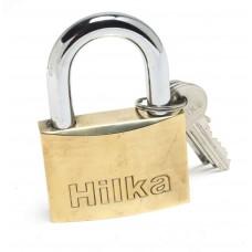 HILKA 60MM FULL BRASS PADLOCK