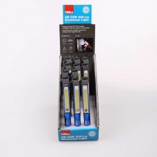 HILKA 3W COB 200L PEN LIGHT  (12PC DISPLAY)