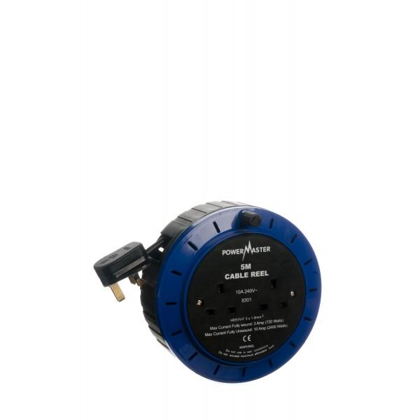 5MT CABLE REEL 230V POWERMASTER