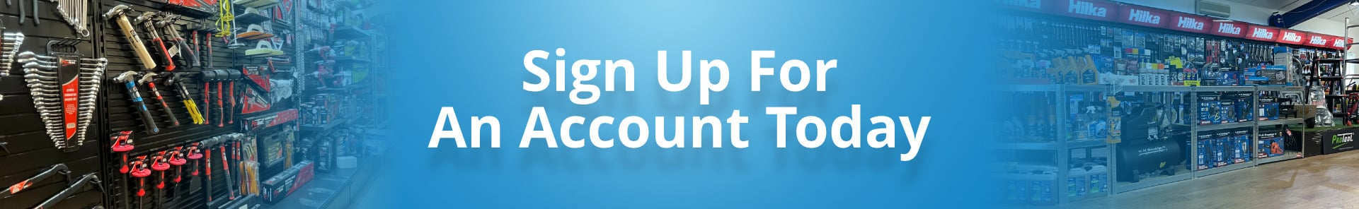 Wide Banner - Sign Up