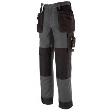 KAPRIOL VITTORIA PANTS GREY/BLACK  M