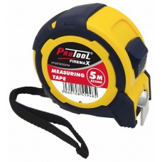 PROTOOL 5M X 25MM MEASURING TAPE FIREMAX SERIES