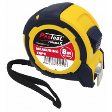 PROTOOL 8M X 25MM MEASURING TAPE FIREMAX SERIES