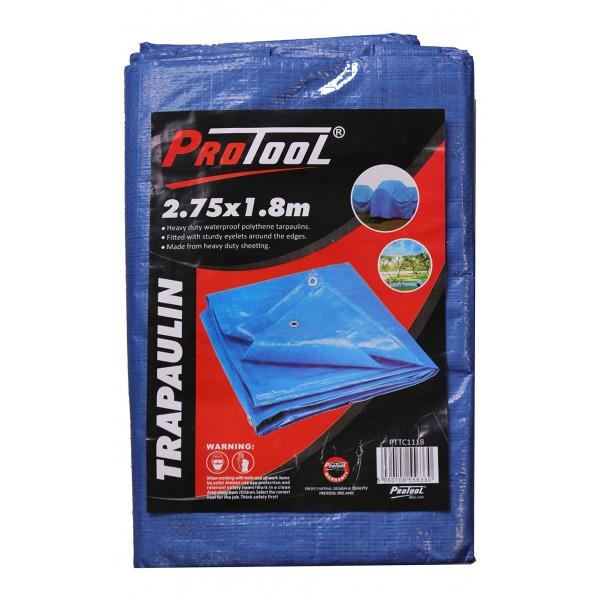 PROTOOL TARPAULIN 2.75M x 1.8M H-DUTY