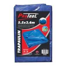 PROTOOL TARPAULIN 5.5 x 3.6M H-DUTY