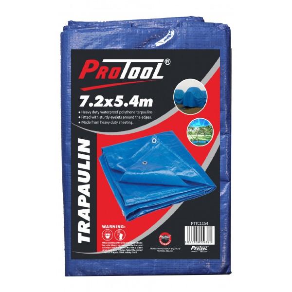 PROTOOL TARPAULIN 7.2M x 5.4M H-DUTY