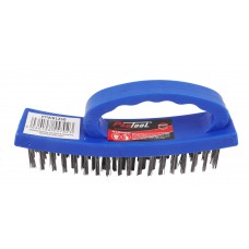 PROTOOL WIRE BRUSH OVAL STEEL 4X18