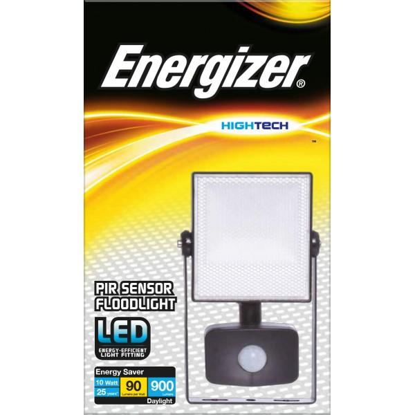ENERGIZER 10W LED FLOODLIGHT cw PIR