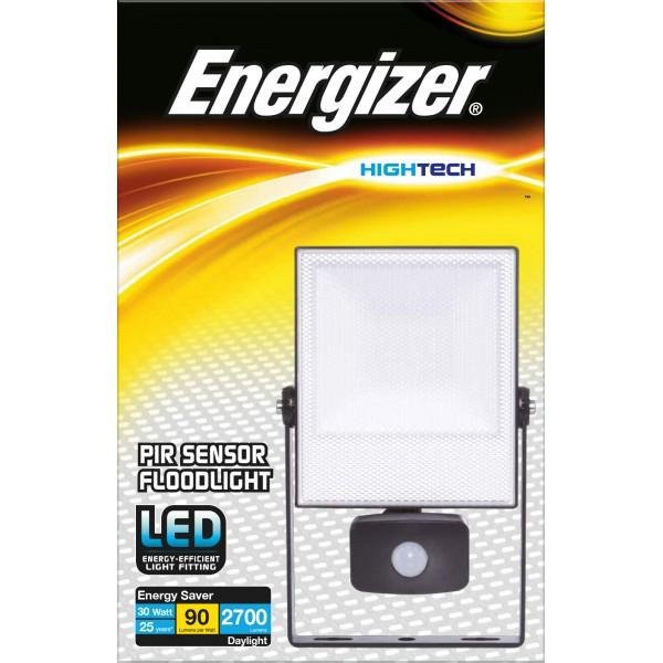 ENERGIZER 30W LED FLOODLIGHT cw PIR