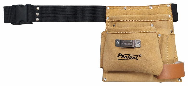 PROTOOL LEATHER SINGLE TOOL POUCH